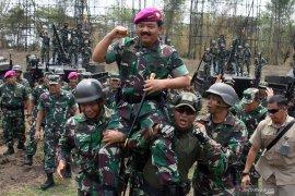 Panglima TNI kunjungi sarang petarung Marinir