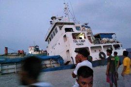 Seribuan ton semen tenggelam bersama kapal tol laut di Lembata
