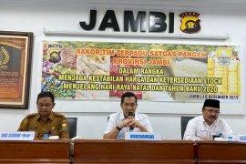 Satgas Pangan Jambi jamin stok dan harga sembako stabil
