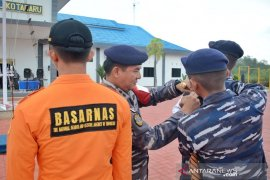 Kotabaru Naval Base increases SAR skill in disaster mitigation