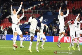 PSG dan Real Madrid tutup penyisihan grup dengan kemenangan