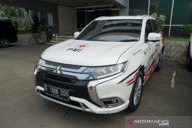 Mitsubishi Outlander PHEV jadi armada tanggap darurat PMI