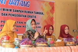 Dharma Wanita Persatuan Binjai sosialisasi minim sampah rumah tangga