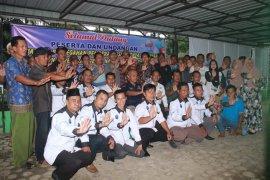 Desa Stungkit Wampu Langkat lantik Relawan Anti Narkoba