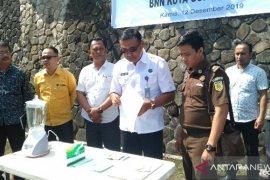 BNN Kota Gunungsitoli musnahkan barang bukti narkotika