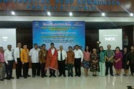 Wakil Ketua KPK Laode M Syarif beri kuliah umum di Nommensen Medan