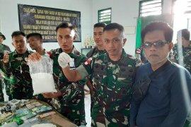 Satgas Pamtas di Kalbar bongkat sindikat pengiriman 51 Kg sabu