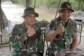 Kompi Senapan B Yonif 141/AYJP  Bangka gelar latihan menembak