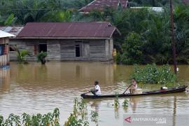 VIDEO - Ribuan Rumah Tergenang Banjir di Riau