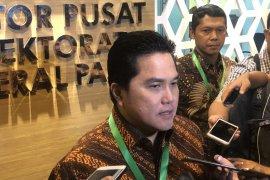 Erick Thohir jelaskan proyek perusahaan Mahaka di Garuda