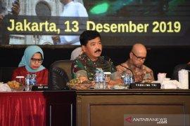 Panglima TNI sebut 17.190 prajurit siap amankan Natal dan Tahun Baru