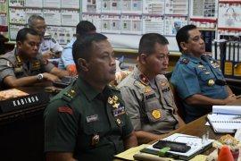 Kasdam I/BB  hadiri video conference dengan Panglima TNI