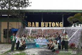 Mahasiswa Polbangtan Medan field trip ke perkebunan teh Bahbutong Sidamanik