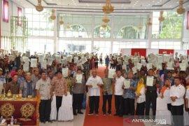Gubernur Gorontalo minta warga manfaatkan sertifikat tanah untuk modal usaha