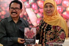 "Ucapkan selamat HUT ANTARA, Gubernur Khofifah dorong kebersamaan ""Jogo Jawa Timur"" (Video)"