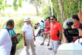 Wabup Kasta monitoring proyek infrastruktur