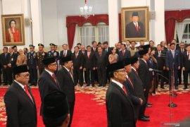 Sembilan Wantimpres dilantik Presiden Joko Widodo. Ada Habib Lutfi