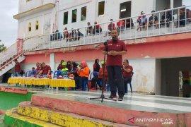 Porkab Rohil I, Sekda Buka pertandingan Sepakbola