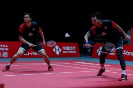 Hendra/Ahsan lolos final BWF Tour Finals 2019