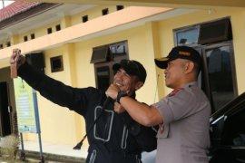Peserta Penjelajah Indonesia singgah di Polres Simalungun