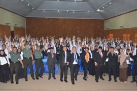 262 CPNS Trenggalek lulus pelatihan dasar