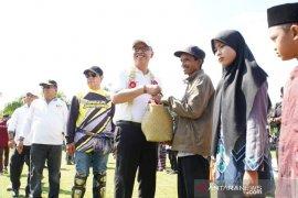 Masyarakat Balangan terima bantuan milyaran rupiah pada peringatan HKSN 2019