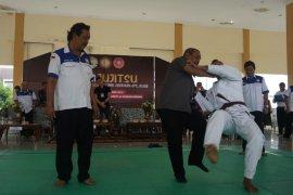 Bantingan Sekum KONI Sumut tandai dibukanya kejuaraan PBJI Sumut