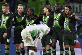 Liga Jerman - Gladbach gagal rebut puncak klasemen setelah ditaklukkan Wolfsburg