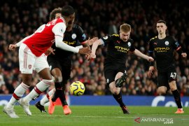 Liga Inggris: Kevin de Bruyne gemilang, Manchester City kubur Arsenal di Emirates