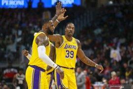 Basket, NBA - Hadapi Clippers di laga Natal, Lakers kemungkinan mainkan James