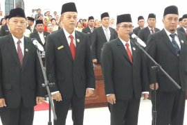 Surialam dilantik jadi Ketua DPRD Kabupaten Langkat