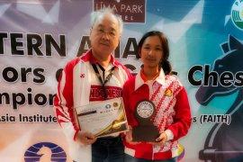 Pecatur Ummi Fisabilillah raih gelar norma WGM usai juara junior Asia Timur