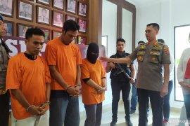 Polisi amankan tiga tersangka sindikat perdagangan manusia di Medan