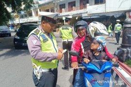 Satlantas Polres Bangka amankan 25 bukti pelanggaran lalu lintas