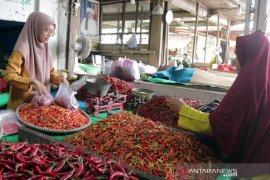 Hargai cabai di Banjarmasin anjlok