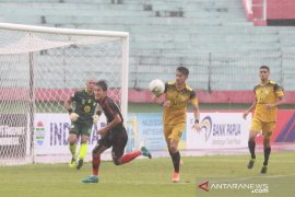Liga 1: Persipura vs Barito Putera 0-0 di babak pertama