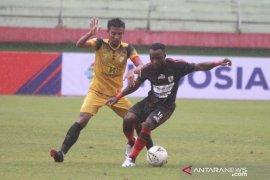 Liga 1: Persipura vs Barito Putera, gol Conteh antar Mutiara Hitam ke posisi kedua