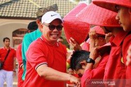 Ribuan mahasiswa UMRI berparade ajak warga cintai Indonesia