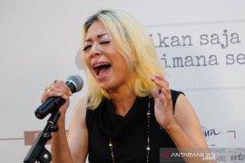 Syaharani mengaku tak pernah bermimpi jadi penyanyi jazz