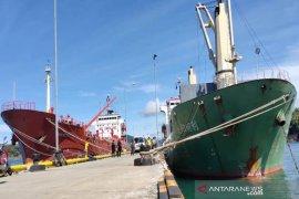 Kapal ekspor CPO ke India kembali sandar di Pelabuhan Calang