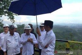 Presiden Jokowi tinjau ibu kota baru didampingi tujuh menteri