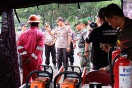 Polresta Sidoarjo dirikan posko tanggap bencana di Sungai Porong