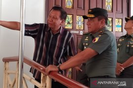 Jelang kedatangan Panglima TNI-Kapolri, Pangdam sidak Gereja SMTB
