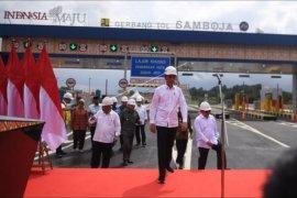 Presiden resmikan tol Balikpapan - Samarinda
