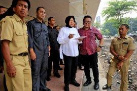 Wali kota Risma beri masukan desain penataan Gelora Pancasila Surabaya
