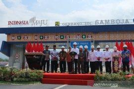 Presiden Jokowi resmikan jalan tol Balikpapan-Samarinda