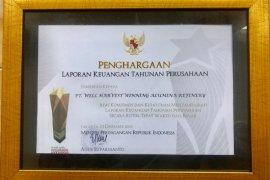 Kemendag beri penghargaan atas laporan keuangan PT WHW