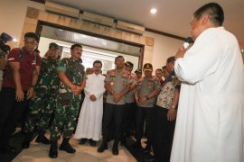 Kunjungan Panglima TNI dan Kapolri di Surabaya