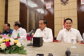 Presiden Jokowi sebut nama-nama usulan anggota Dewan Pengawas KPK