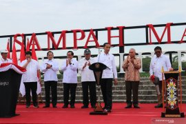 Presiden Jokowi resmikan pengolahan sampah modern Manggar